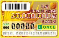 once summer lottery coupon draw twenty million euro