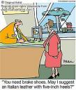 women's brake shoes