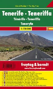 Freytag & Berndt Tenerife Teneriffa 1:150000 scale map. ISBN 978-3-7079-1079-7